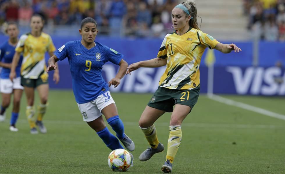 brasil austrália ao vivo pela copa do mundo feminina