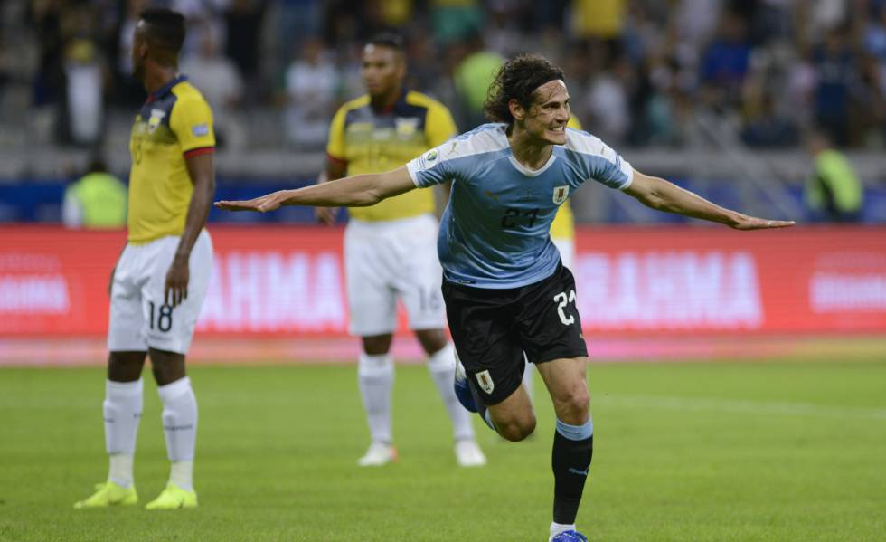 ao vivo jogo uruguai x equador copa américa resultado
