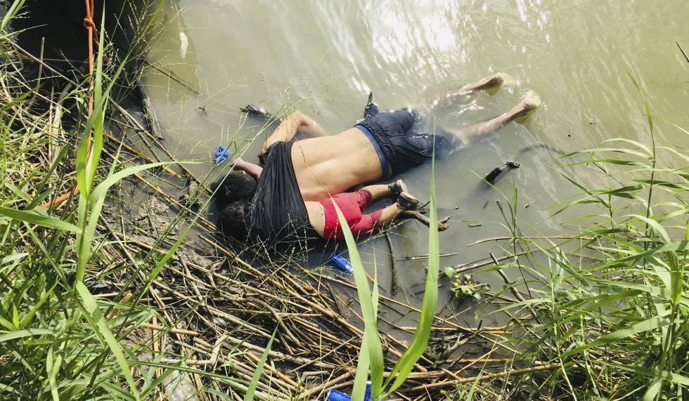 Pai e filho afogados no rio Bravo