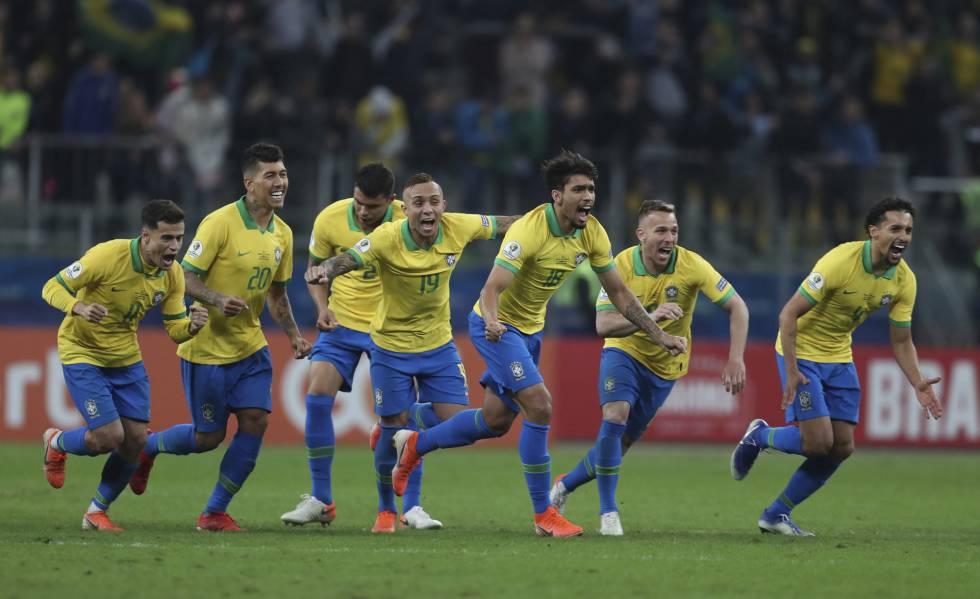 ao vivo resultado jogo brasil paraguai copa américa quartas