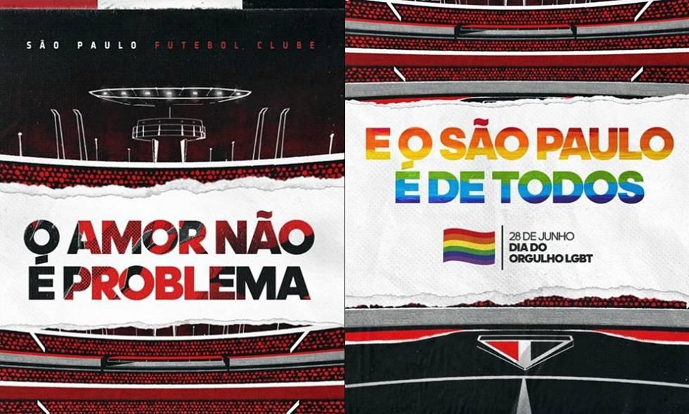 37fb034848849 Um manifesto tardio, porém necessário, do São Paulo contra a homofobia