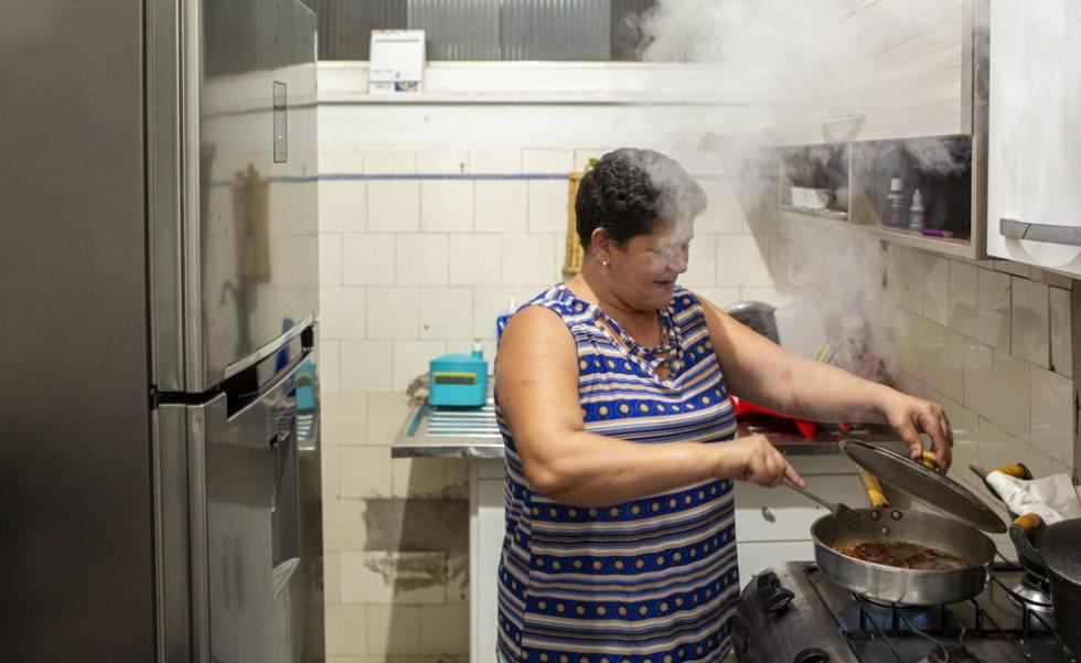 Márcia Carneiro, uma das moradoras da ocupação 9 de Julho.