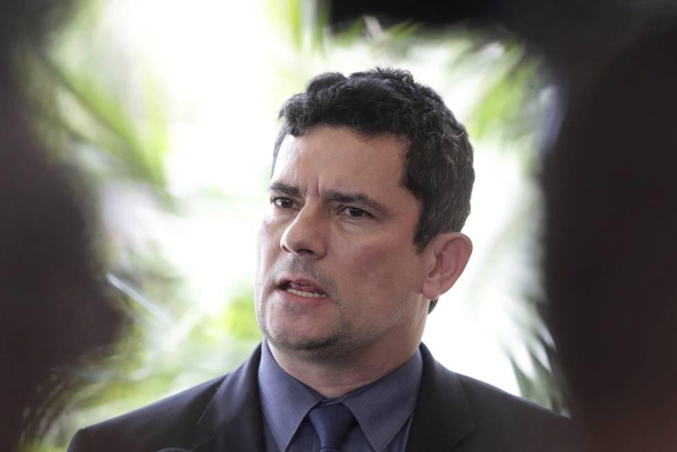 O ministro da Justiça Sergio Moro, ex-juiz da Lava Jato.