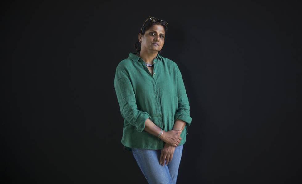 A cosmologista Priyamvada Natarajan.