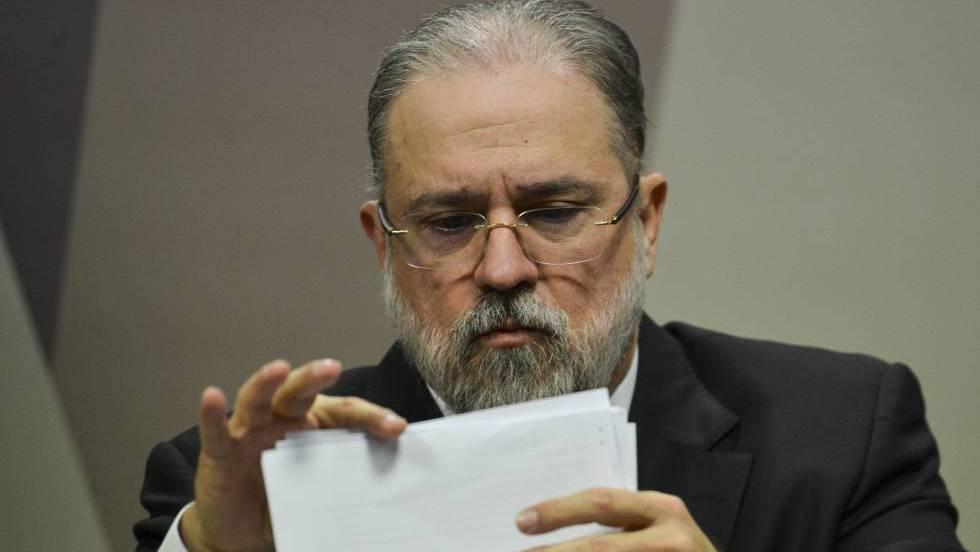 Augusto Aras fala à CCJ do Senado, em sabatina nesta quarta-feira.
