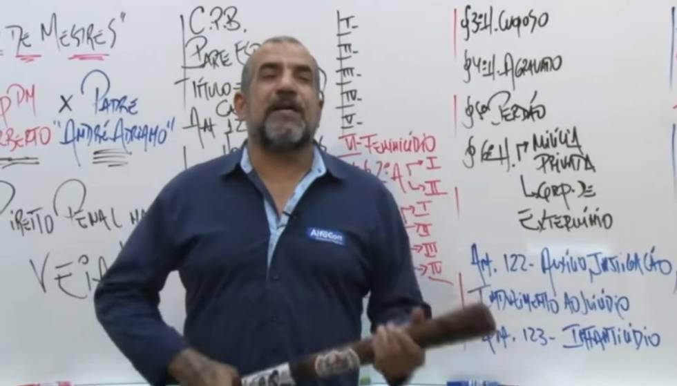 Norberto Florindo Filho ensina práticas de tortura e execução para concurseiros .