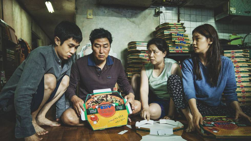 Fotograma de 'Parasitos', dirigida por Bong Joon-ho. No vídeo, trailer oficial do filme.