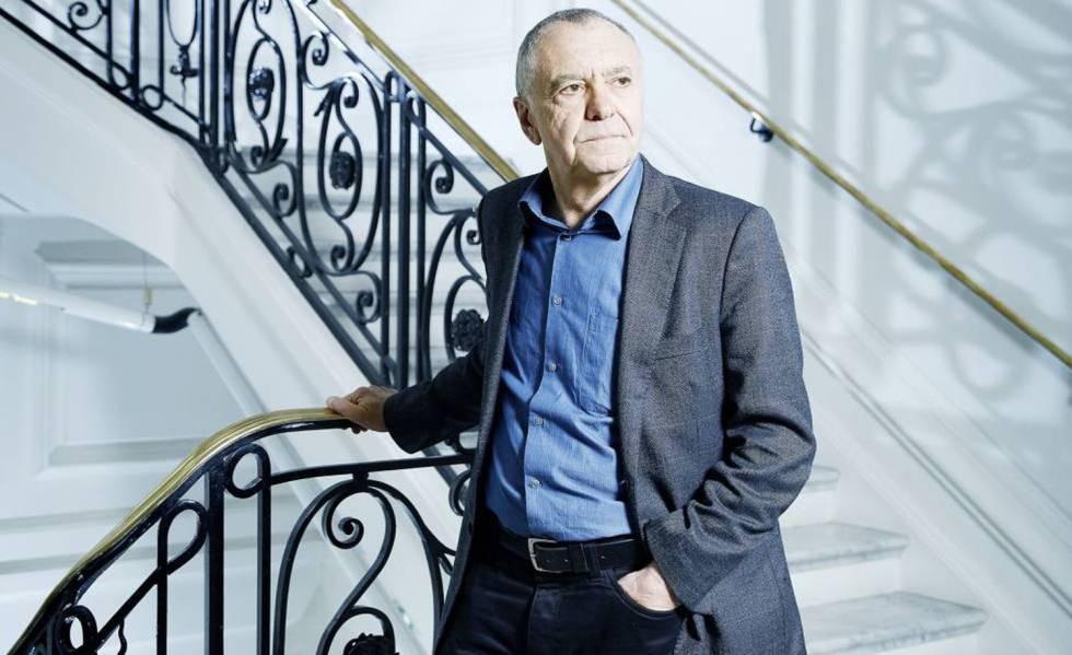 O pensador e escritor francês Gilles Lipovetsky, na sede do Instituto Cervantes em Paris.
