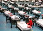 Por dentro de um hospital de campanha na Espanha que luta contra o coronavírus