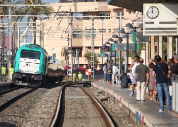 Descarrila un tren de mercaderies a Tarragona i causa retards