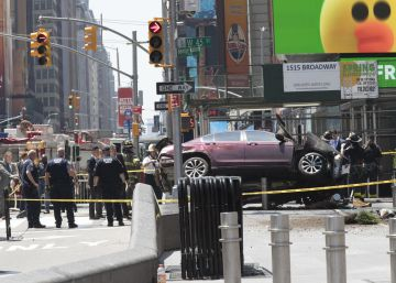 La policia investiga com a accident l'atropellament mortal a Times Square de Nova York