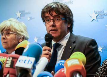 "Puigdemont denuncia en un article ""l'empresonament massiu"" de polítics independentistes"