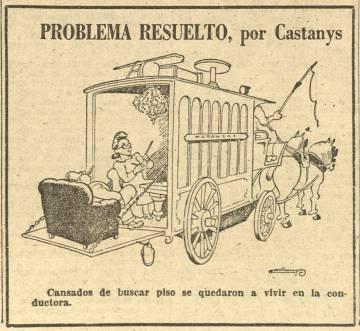 Acudit de Castanys a 'El Correo Catalán' l'1 de juny del 1946.