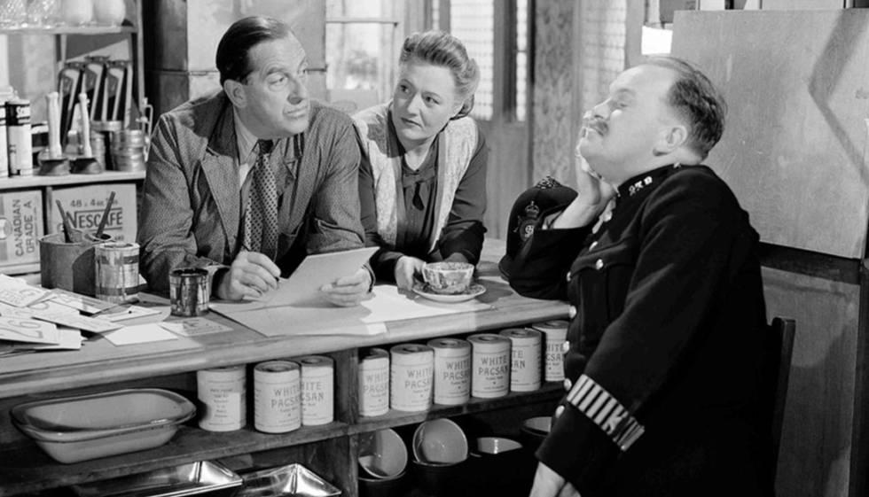 Imatge de la pel·lícula 'Passaport per a Pimlico'.
