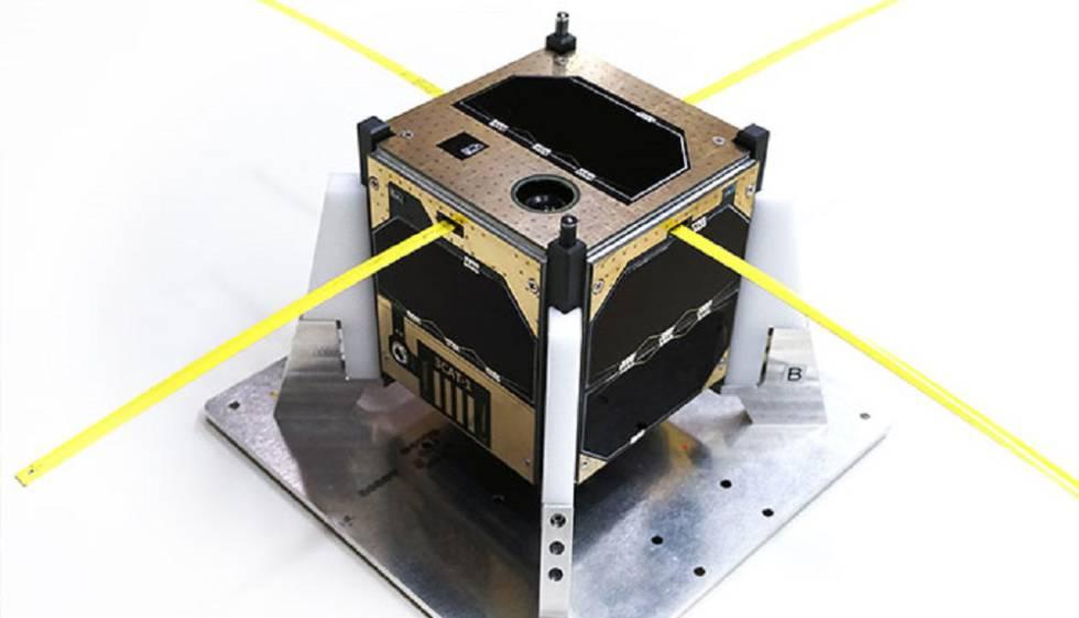 El nanosatèl·lit CubeCat-1 desenvolupat per la UPC.