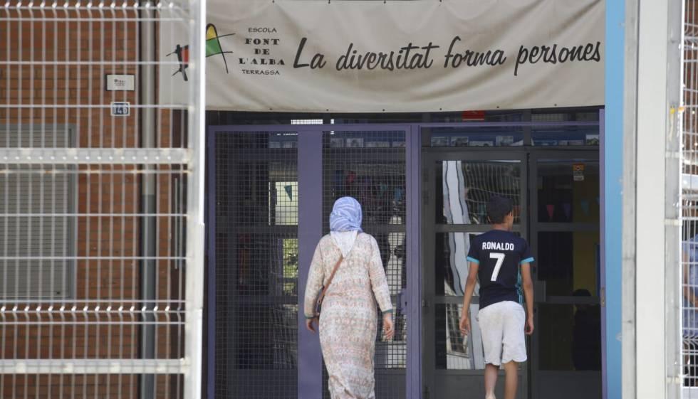 La escuela Font de l'Alba, en Terrassa.