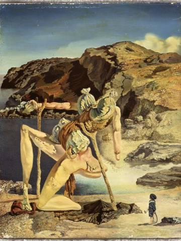 'L'espectre del sex-appeal', de Dalí, al voltant del 1934.