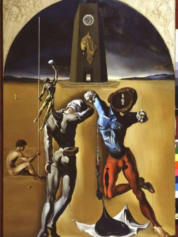 'Poesia d'Amèrica', de Dalí, 1943.