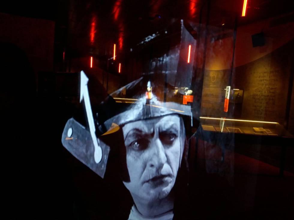 Imatge de la pel·lícula 'Aelita, princesa de Mart', a l'exposició.