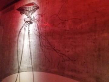 Màquina marciana de 'La guerra dels mons', a l'exposició.