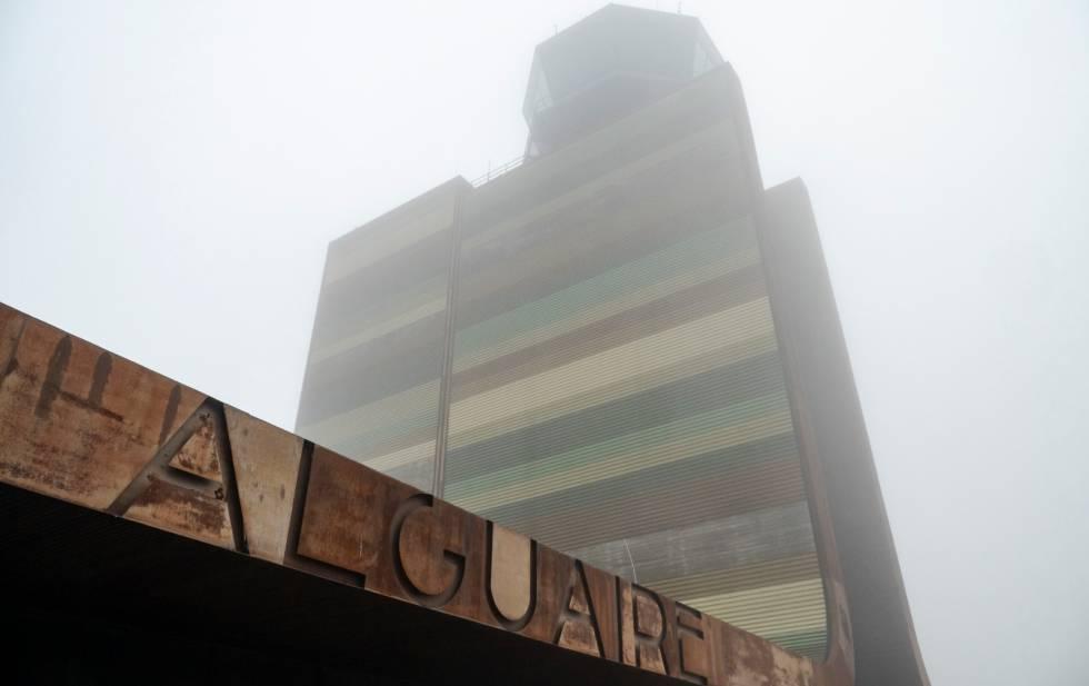L'aeroport d'Alguaire, a Lleida, des d'on es preveu que s'enlairin missions de vol suborbital per al llançament de satèl·lits.