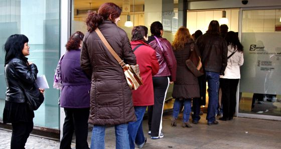La tasa de paro se dispara hasta el 30 en la provincia de for Oficinas servef valencia