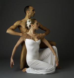 Bailarines de la Martha Graham Dance Company.