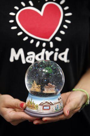 Llavero Oso y Madroño Souvenir Regalo Madrid España Tipical