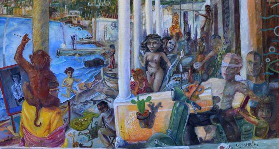 Ecos de la historia reciente de la pintura malague a for Casa de citas malaga
