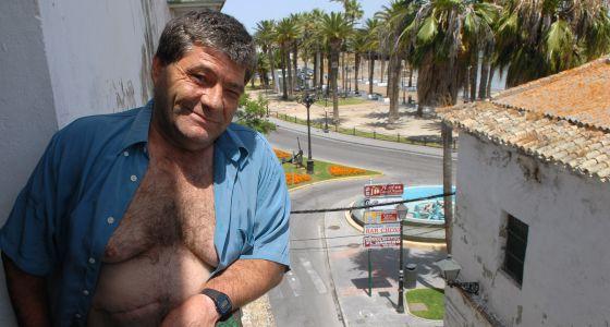 Rafael Ricardi, en su casa de El Puerto de Santa María.