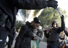 Madrid police evict 350 squatters from abandoned student residence
