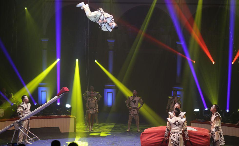 Equilibrios chinos y acrobacias mongolas se imponen en - El tiempo en figueres ...