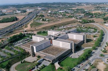 Vista aérea del Hospital General de Catalunya