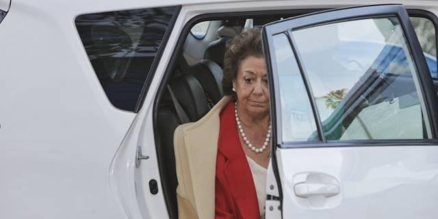 La exalcaldesa de Valencia y senadora Rita Barberá.