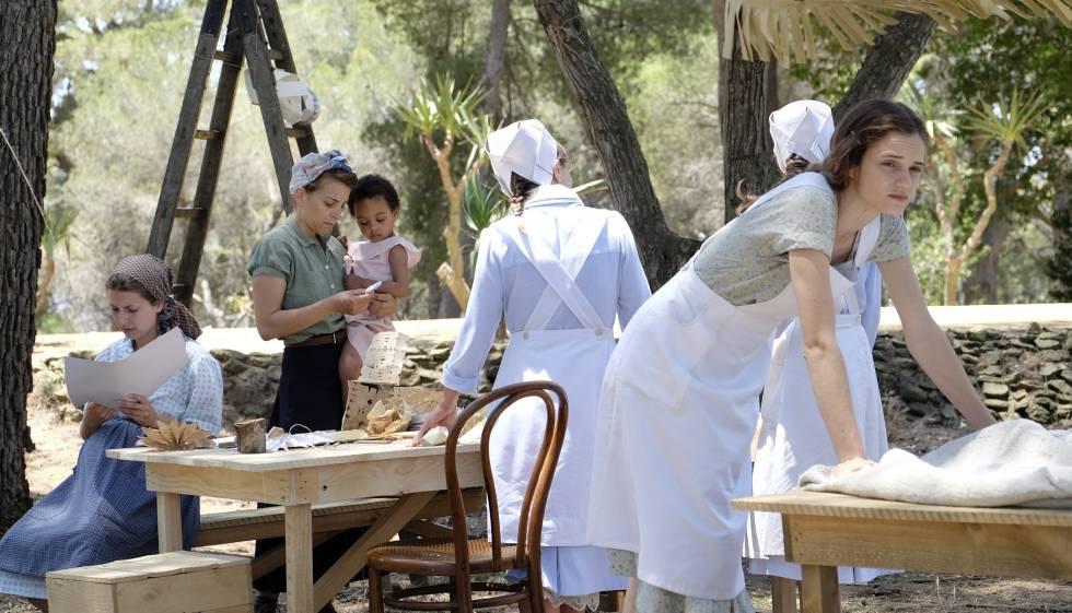 Una película de TV3 recrea la historia de la Maternidad de Elna ...