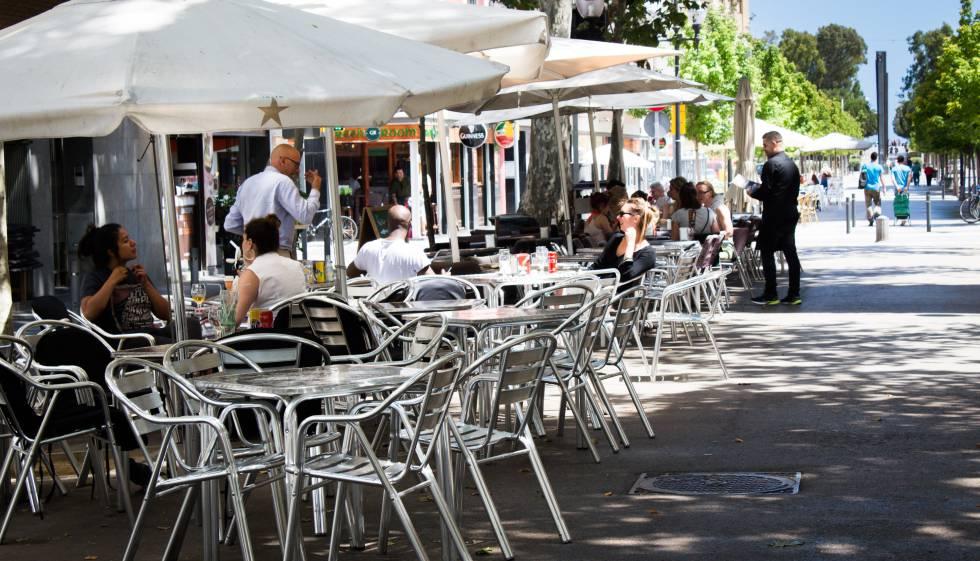 Las terrazas de oro de barcelona catalu a el pa s - Terrazas de barcelona ...