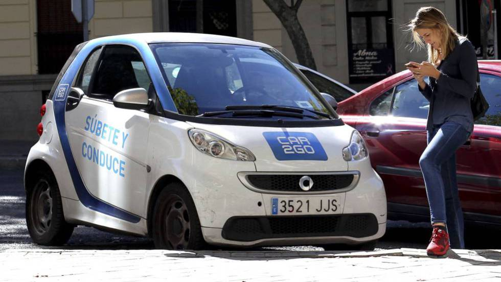 Madrid se pone a la cabeza europea del alquiler de coches Car2go