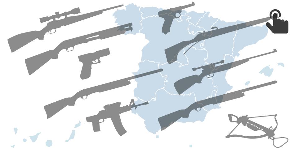 7ffba69693b Pincha para saber más sobre las cifras de la armería española en 2016