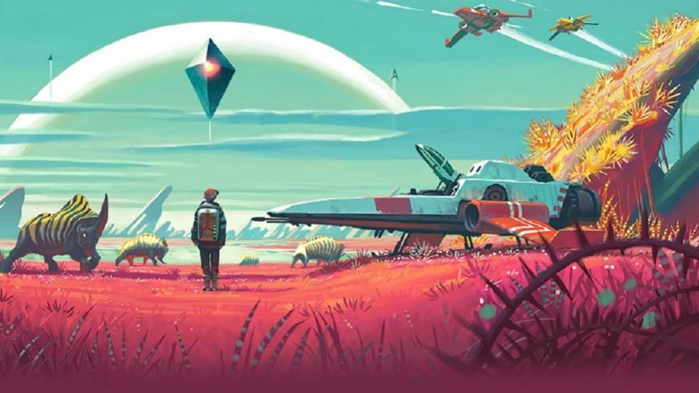 Imagen del videojuego 'No man´s sky', cuya banda sonora ha sido