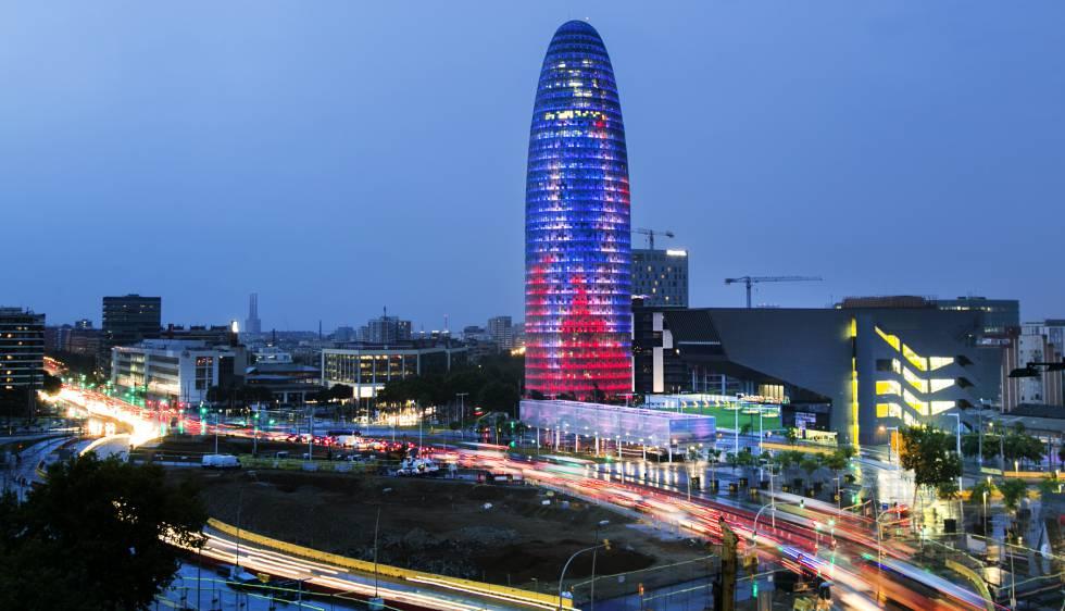 La Torre Agbar, que será un hotel.