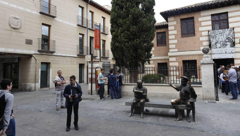 El v nculo entre cervantes y aza a se forj en esta calle - Hotel el quijote madrid ...