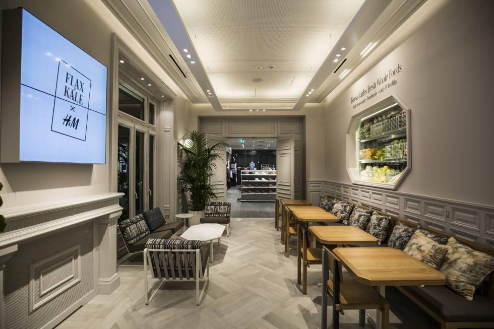 7886e2e96137d H M abre en Barcelona su primera tienda del mundo con cafetería ...
