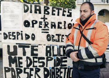 Readmiten al barrendero despedido por su diabetes
