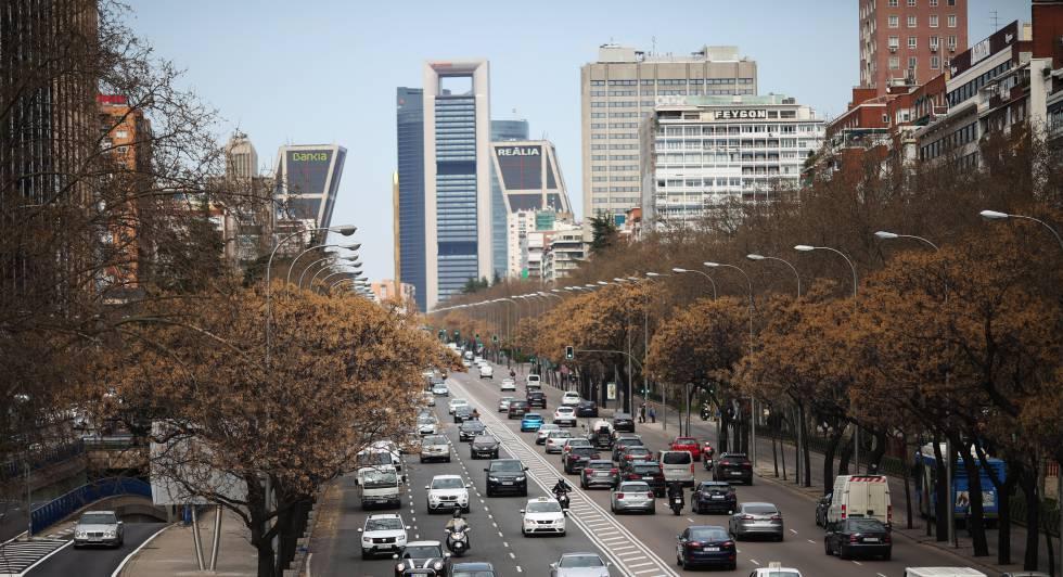2961c43d El Ayuntamiento desempolva un plan para remodelar la Castellana ...