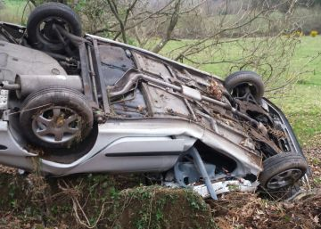 Un conductor sin carné causa un accidente mortal en Lugo