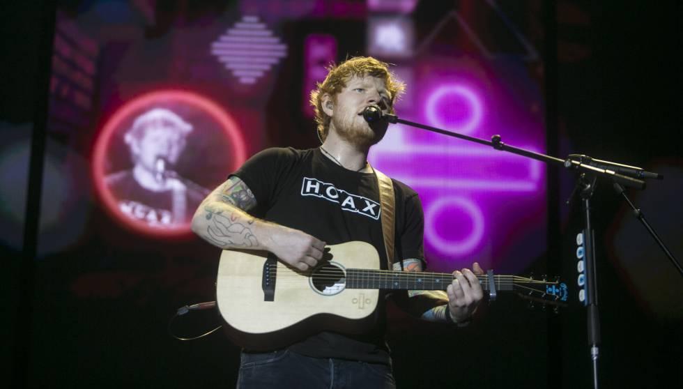 La aplastante normalidad de Ed Sheeran seduce al Sant Jordi ...