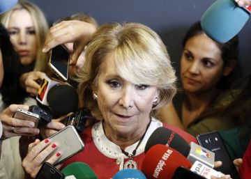 Has Spain finally seen the last of veteran politician Esperanza Aguirre?