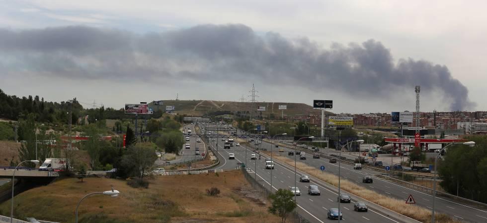 Explosi n un incendio en una planta industrial de arganda - Que ver en arganda del rey ...