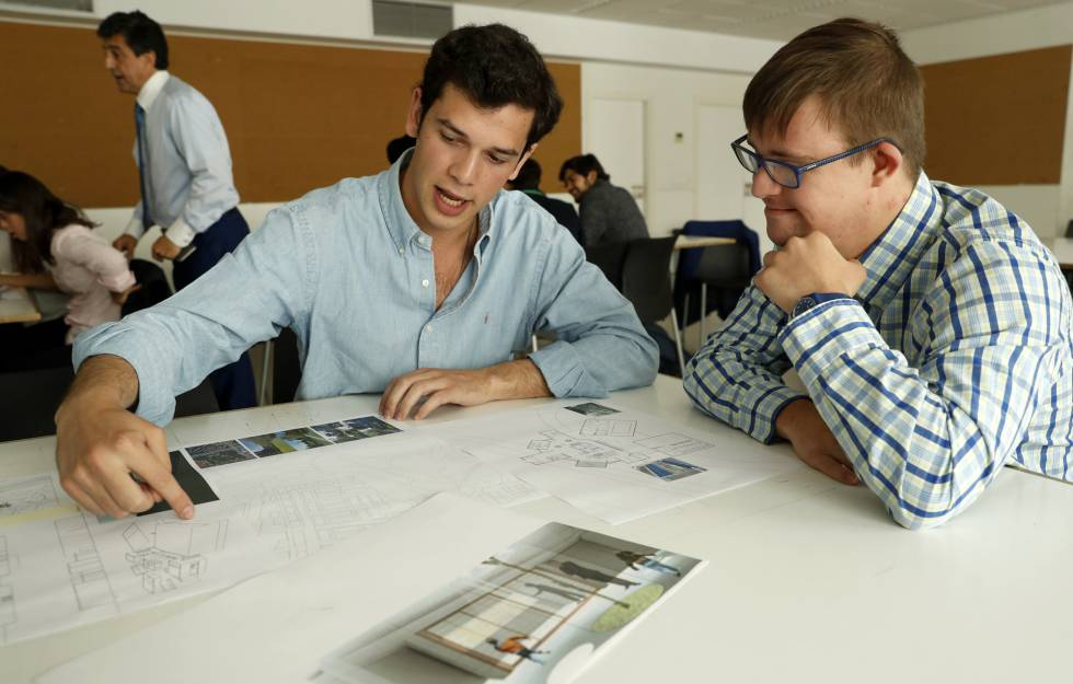 Arquitectura con empat a madrid el pa s for Restaurante escuela de arquitectos madrid