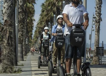 Barcelona bans Segways and electric scooters from historic center